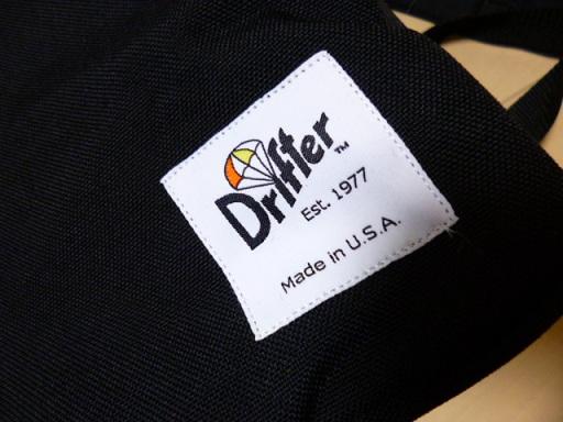 Drifter(ドリフター)のロゴかわいいよね~