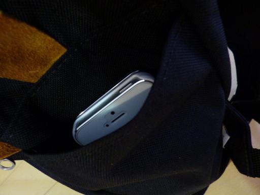 iPhoneもぴったり~