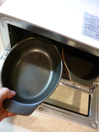 グラタン皿がピッタリ2つ入ります~