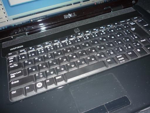 ノートパソコン本体