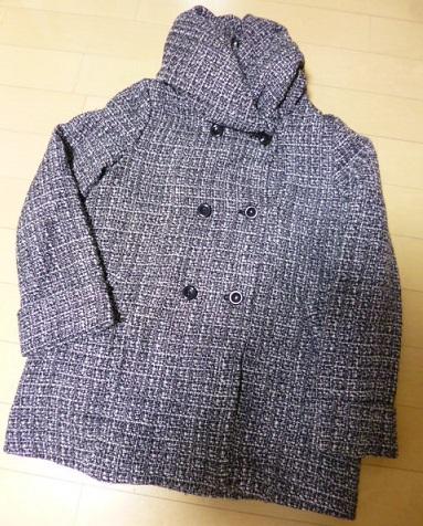 安かったのでつい買っちゃった、ローリーズファームのコート笶、