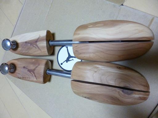木製シューキーパーが本格的