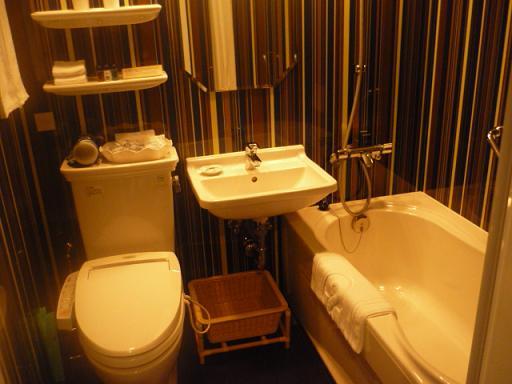 お風呂、トイレはこんな感じ。新しいだけあってすごくきれい。