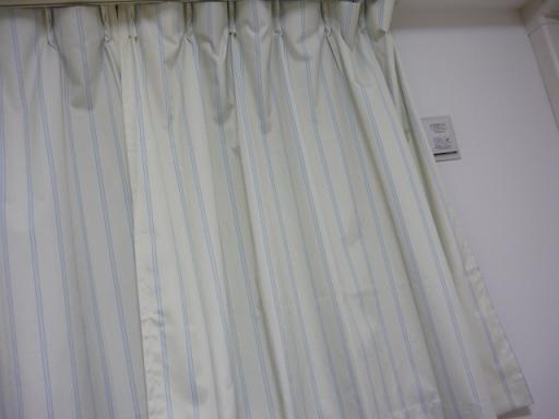 1級遮光・遮熱・防音ストライプカーテン・2枚
