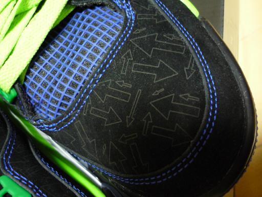 レーザー加工による「矢印」のデザイン