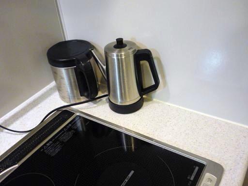 デザインも大きさもキッチンになじんできた感じだなぁ