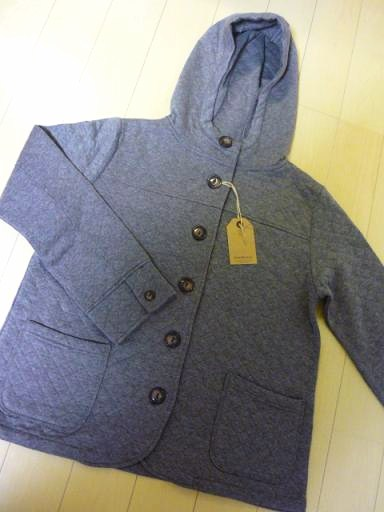ひとめぼれキルトジャケット、毎日着ていますよん~。