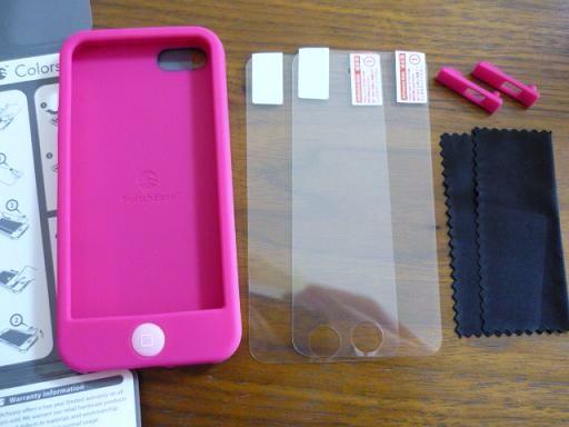 SwitchEasy Colors for iPhone 5(カラーズのアイフォンケース/カバー)内容はこんな感じ~