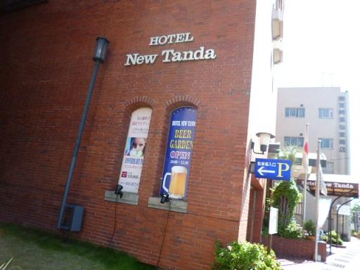 長崎市内のホテルニュータンダに泊まりました