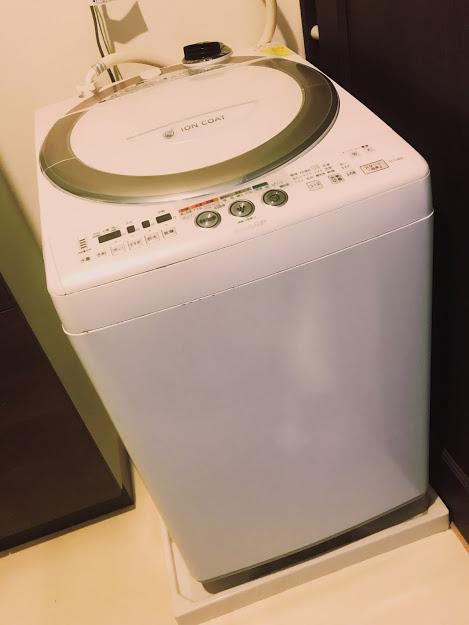 タテ型は、洗濯が得意