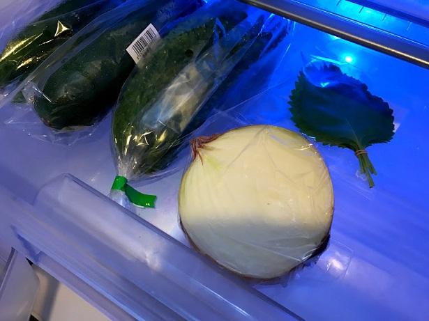使い残しの野菜はこっち