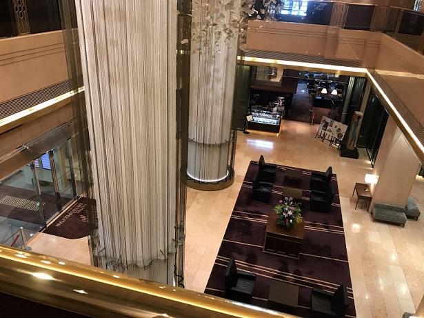 ホテル全体に高級感あり