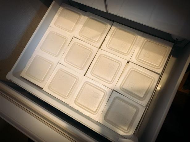 我が家の冷凍庫の引き出しにぴったり